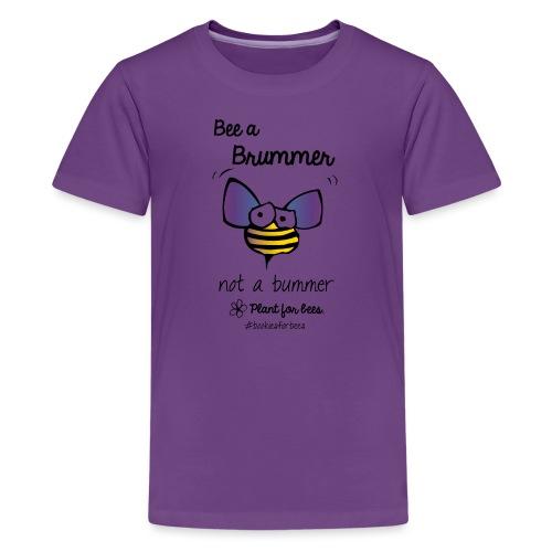 Bees6-1 Save the bees - Teenage Premium T-Shirt