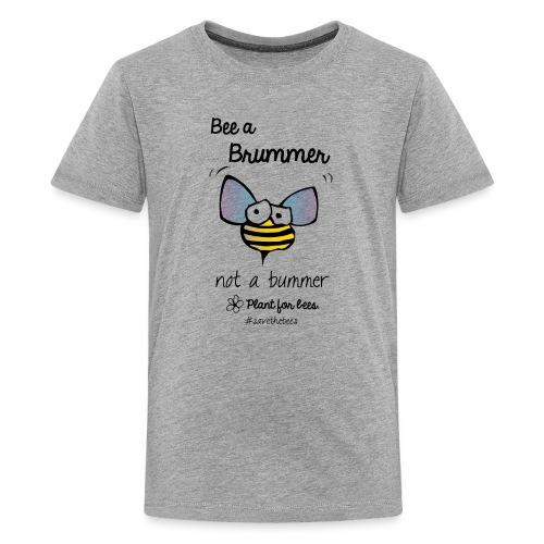 Bees6-2 Save the bees - Teenage Premium T-Shirt