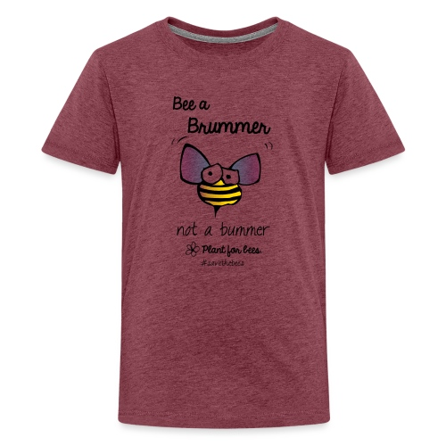 Bees6-2 Save the bees - Teenage Premium T-Shirt