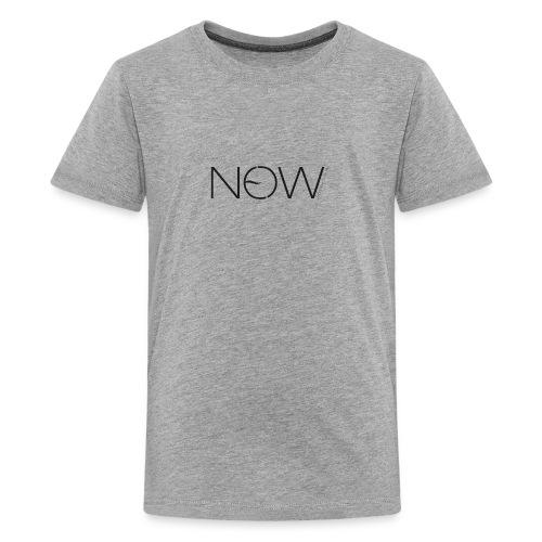 NewNow Logo - schwarz - Teenager Premium T-Shirt