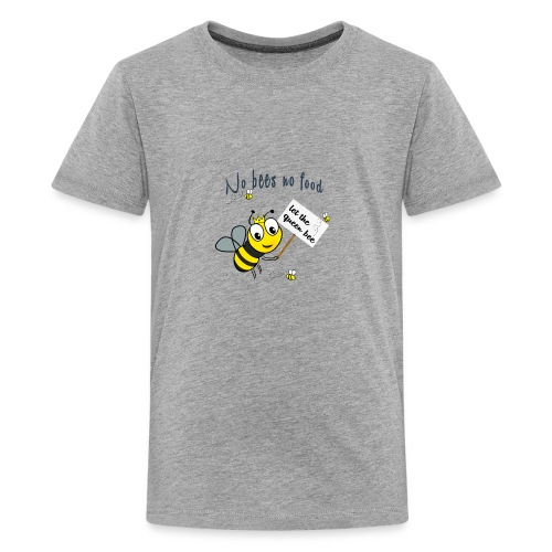 Save the bees with this cute design! Red de bij - Teenager Premium T-shirt