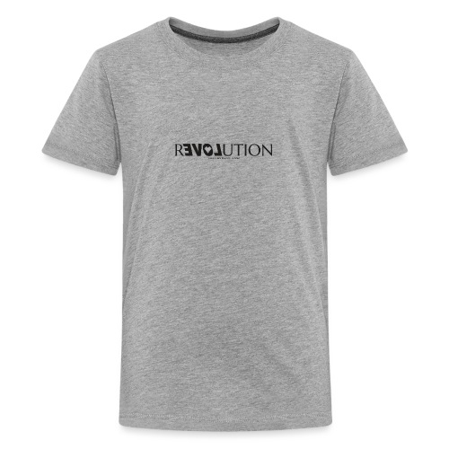 ReLOVEution Shirt – schwarz - Teenager Premium T-Shirt