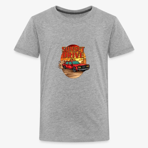 Sunset Drive - T-shirt Premium Ado