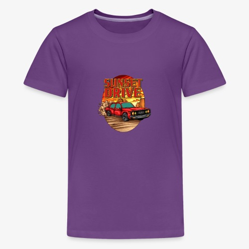 Sunset Drive - Teenager Premium T-Shirt