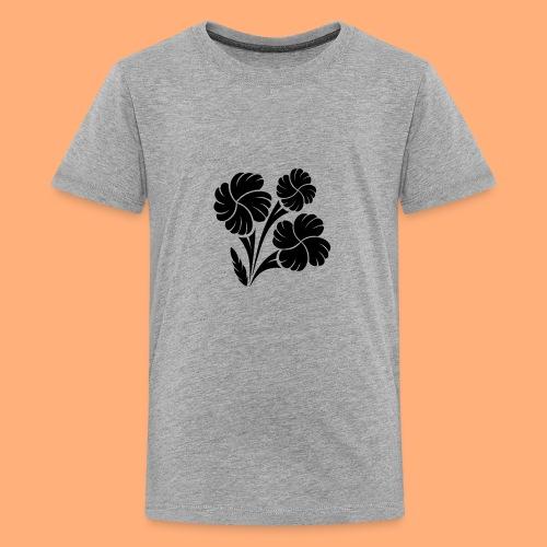 trio fleuri - T-shirt Premium Ado
