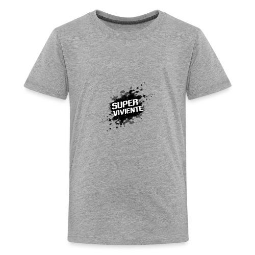 Superviviente - Camiseta premium adolescente