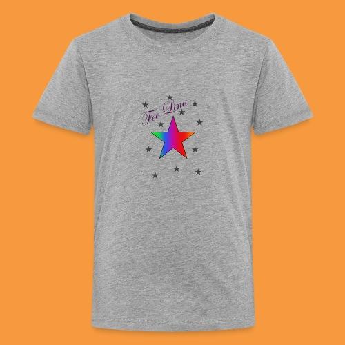 Fee Lina Star - Teenager Premium T-Shirt