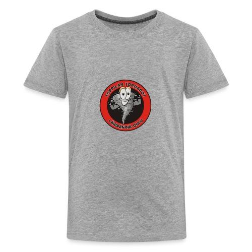 Toppilan Tornadot - Teinien premium t-paita
