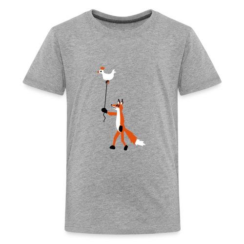 Fuchs und Henne - Teenager Premium T-Shirt