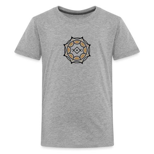 Spirituelles Symbol, Gruß der Lichtarbeiter, Kryon - Teenager Premium T-Shirt