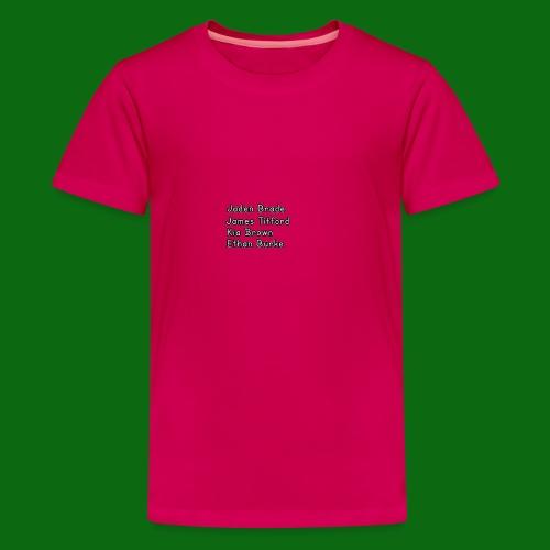 Glog names - Teenage Premium T-Shirt