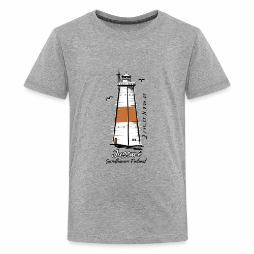 JUSSARÖ MAJAKKATUOTTEET, T-paidat, hupparit ym. - Teinien premium t-paita