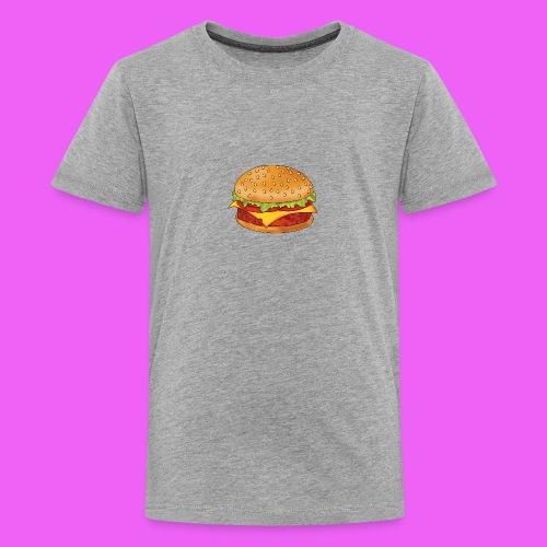 hamburguesa - Camiseta premium adolescente
