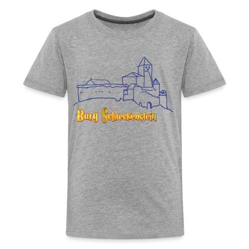 Kinder Kapuzenpullover - Burg Schreckenstein - Teenager Premium T-Shirt