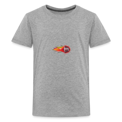 Abstract H LETTER - Teenager Premium T-shirt