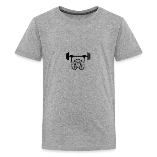 cerveau cervelle barre musculation - T-shirt Premium Ado
