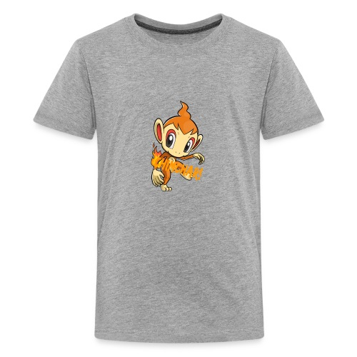 Chimchar T-Shirt! - Premium-T-shirt tonåring