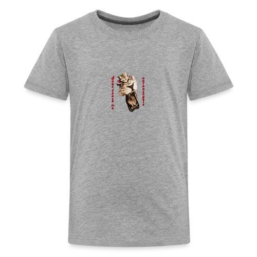 Lion4 Untouchable People! Dont touch me! - Teenager Premium T-Shirt