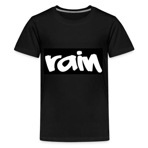 Rain logo 2 png - Teenager Premium T-shirt