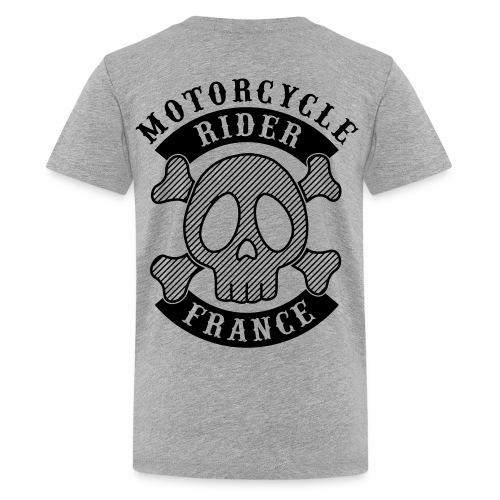 Motorcycle Rider France - T-shirt Premium Ado