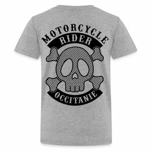 Motorcycle Rider Occitanie - T-shirt Premium Ado