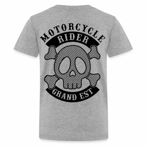 Motorcycle Rider Grand-Est - T-shirt Premium Ado