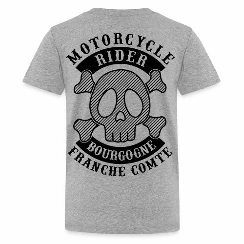 Motorcycle Rider Bourgogne-Franche-Comté - T-shirt Premium Ado