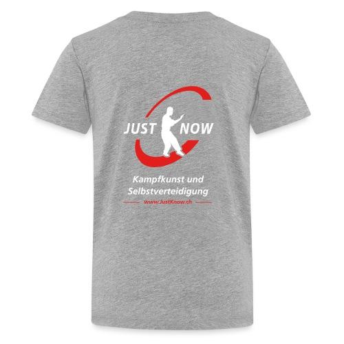 JustKnow - Kampfkunst und Selbstverteidigung - Teenager Premium T-Shirt