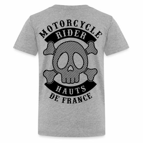 Motorcycle Rider Hauts-de-France - T-shirt Premium Ado