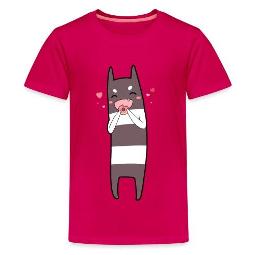 Donut Monster - Teenage Premium T-Shirt