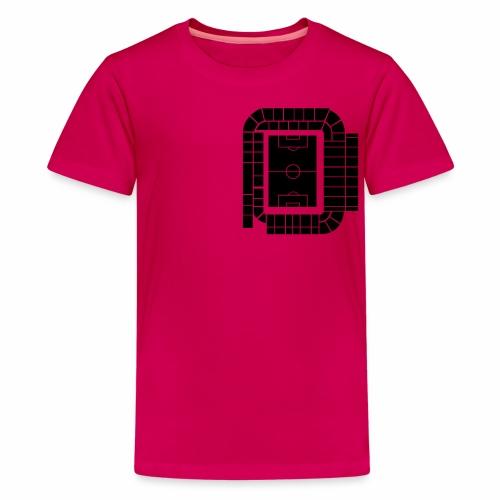 ACTUAL STADIUM PLAN - Teenage Premium T-Shirt