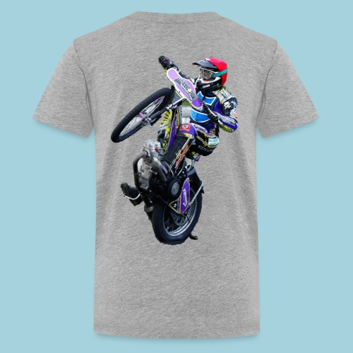 tobi wheeli gif - Teenager Premium T-Shirt