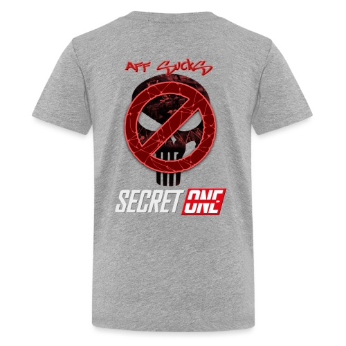 Aff Sucks!! - Premium-T-shirt tonåring