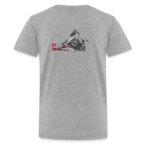 Swiss made logo - Teenager Premium T-Shirt