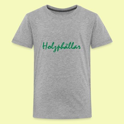 Schriftzug Grün - Teenager Premium T-Shirt
