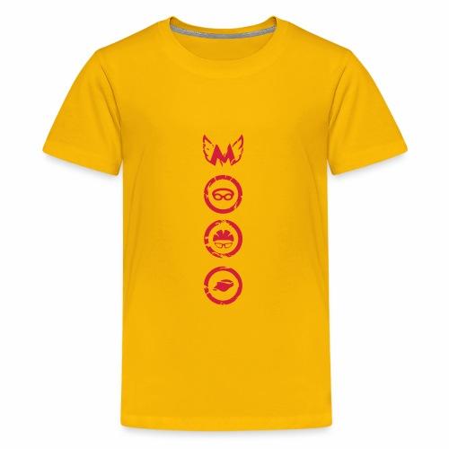 Mosso_run_swim_cycle - Maglietta Premium per ragazzi