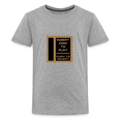 Insert Coin-RB - Teenage Premium T-Shirt