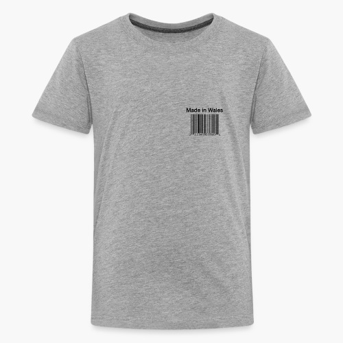 Made in Wales - Teenage Premium T-Shirt