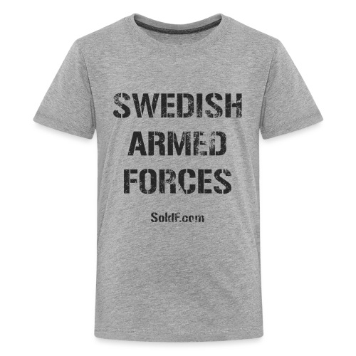 Swedish Armed Forces + SWE FLAG - Premium-T-shirt tonåring