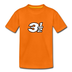 Three and a Half Logo - Teenage Premium T-Shirt