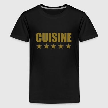 Cuisine   cooking - Teinien premium t-paita
