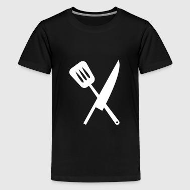Cuisine - Teinien premium t-paita