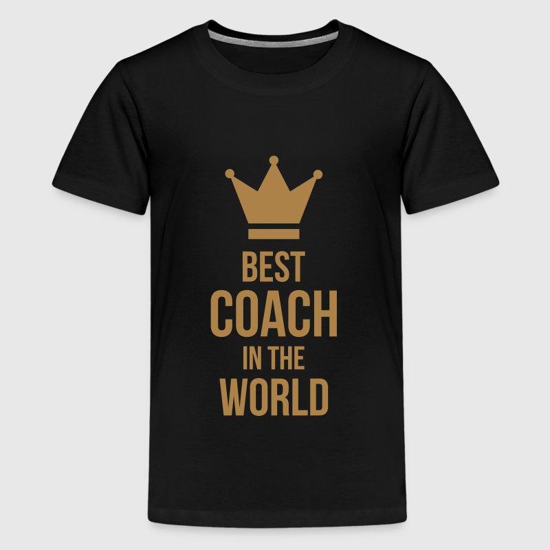 coach / coaching / sport / trein / trainer - Teenager Premium T-shirt