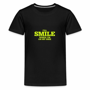 i will smile - Teenager Premium T-Shirt