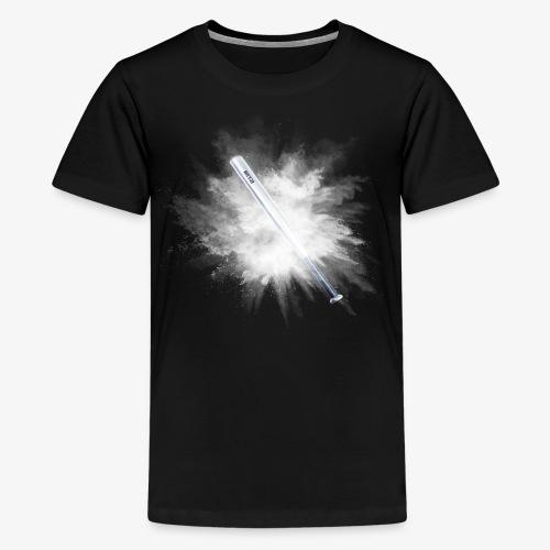 Kampfsport Baseballschläger Betzi - Teenager Premium T-Shirt