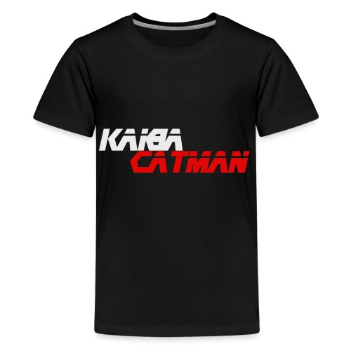 KaibaCatman - Teenager Premium T-Shirt