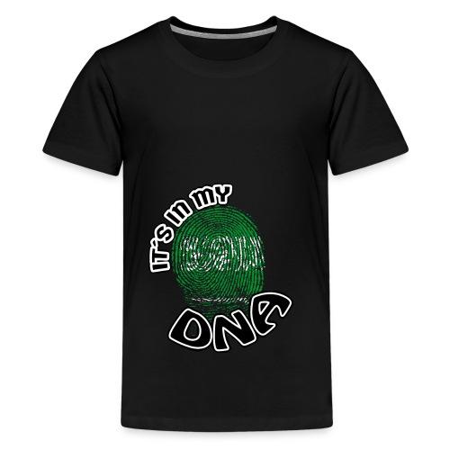Geschenk Its in my dna dns roots Saudi Arabien - Teenager Premium T-Shirt
