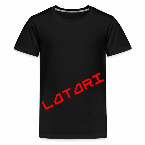 Alkuperäinen Latari Logo - Teinien premium t-paita