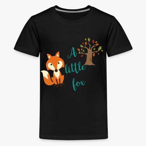 A little Fox - Teenager Premium T-Shirt