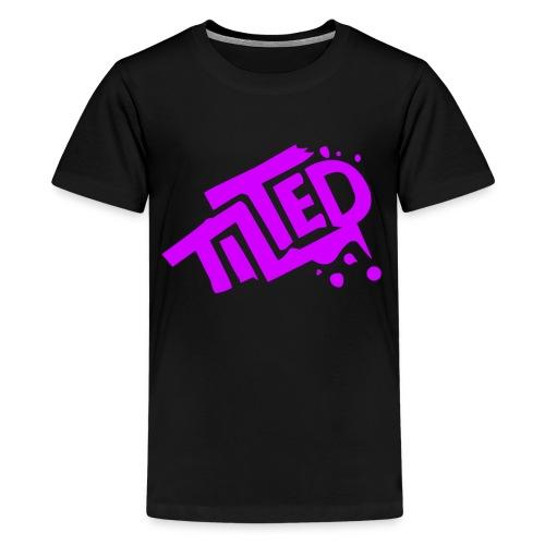 Fortnite Tilted (Pink Logo) - Teenage Premium T-Shirt